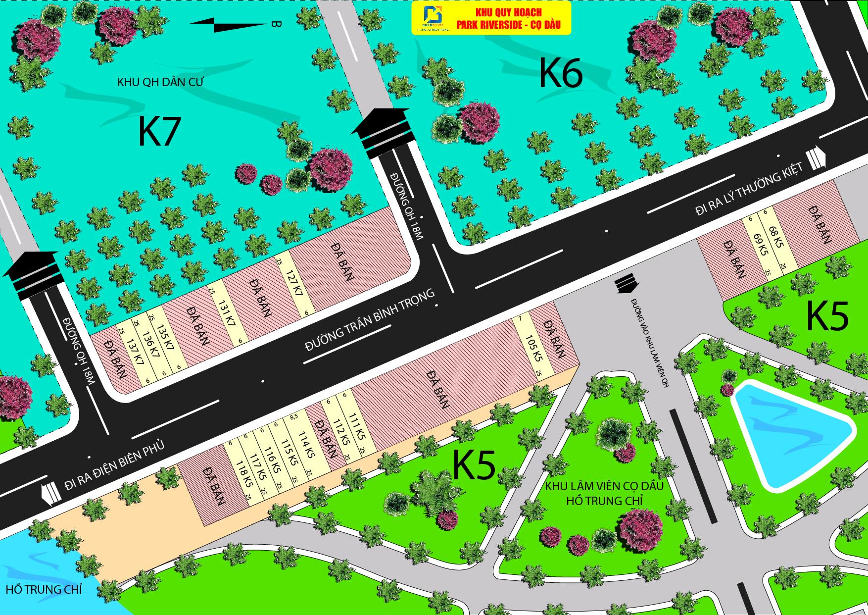 Dự án PARK RIVERSIDE - CỌ DẦU Tại Quảng Trị