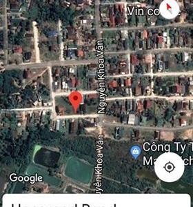 Bán đất giá rẻ tại Nguyễn Khoa Văn, Phú Bài. Huế DT 195m2