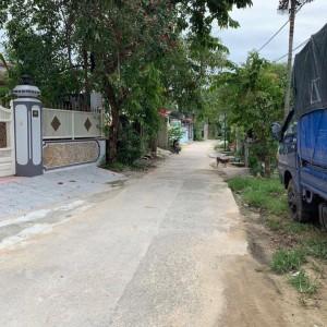 Bán đất mặt tiền Hoàng Thị Loan 157,8m2. P, An tây. Huế