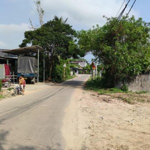 Bán đất phân lô giá rẻ mặt tiền Trần Hoàn 115m2. Phú Bài. Huế