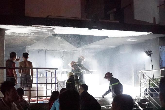 Diaochue - Làm gì khi chung cư bạn ở đang cháy?